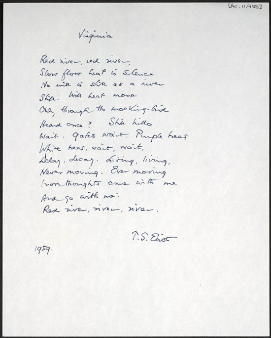 Ts Eliot Love Poems 2